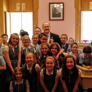 Welcome Fourth Graders From Immaculate Conception School