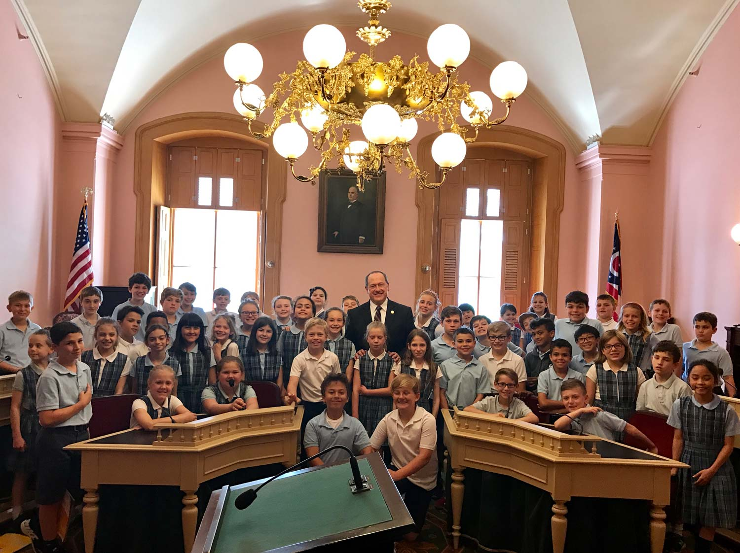 4th Graders From Immaculate Conception School
