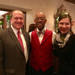 President And Mrs. Drake's Holiday Celebration
