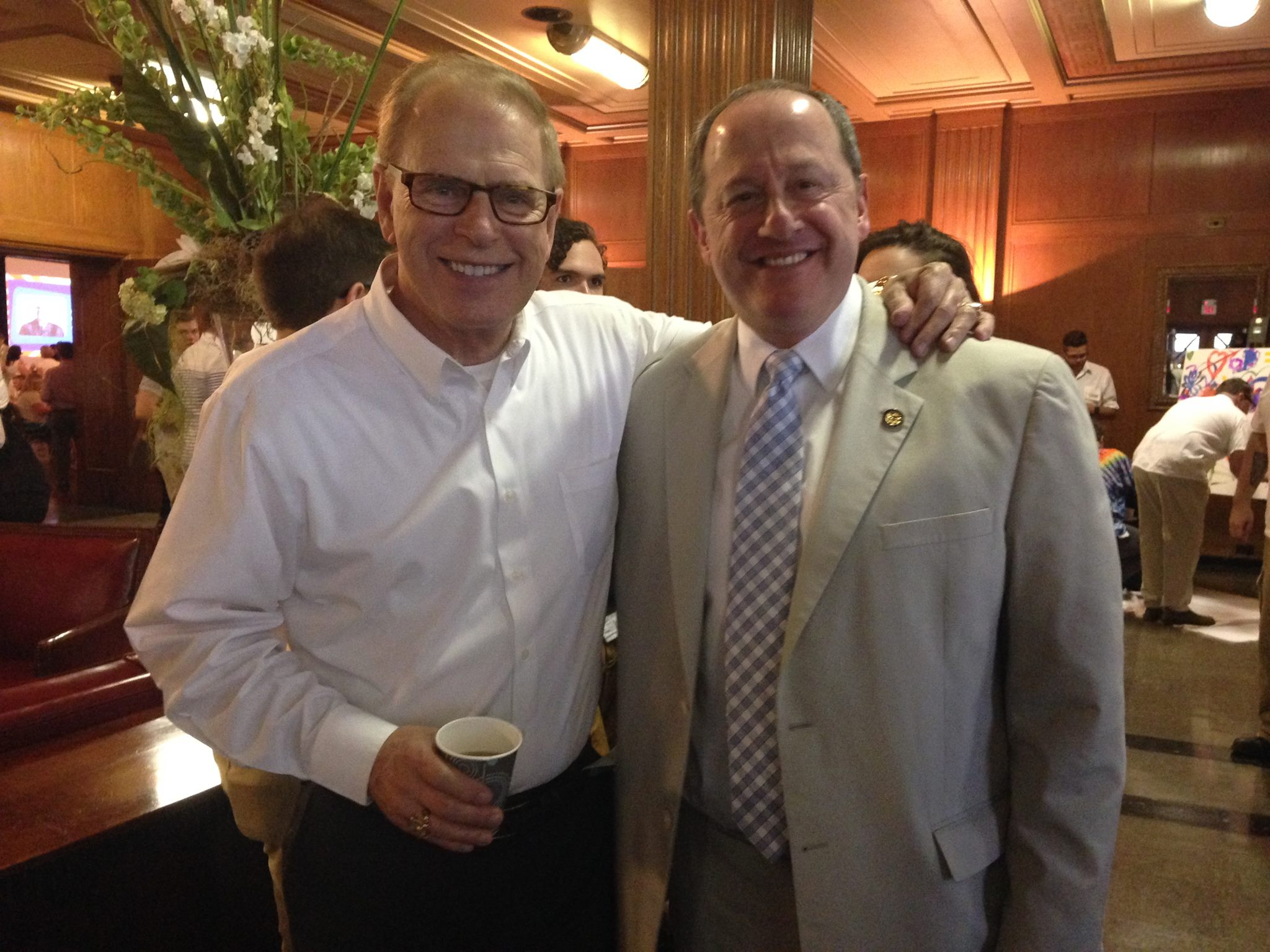 Ted Strickland And David Leland
