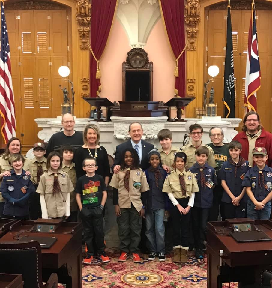 Clintonville Cub Scouts Day At The Ohio Statehouse