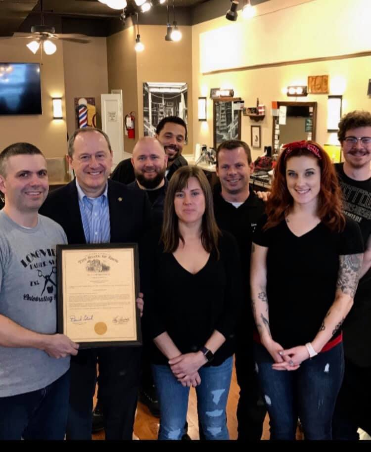 Celebrating The 100th Anniversary Of The Longview Barber Shop