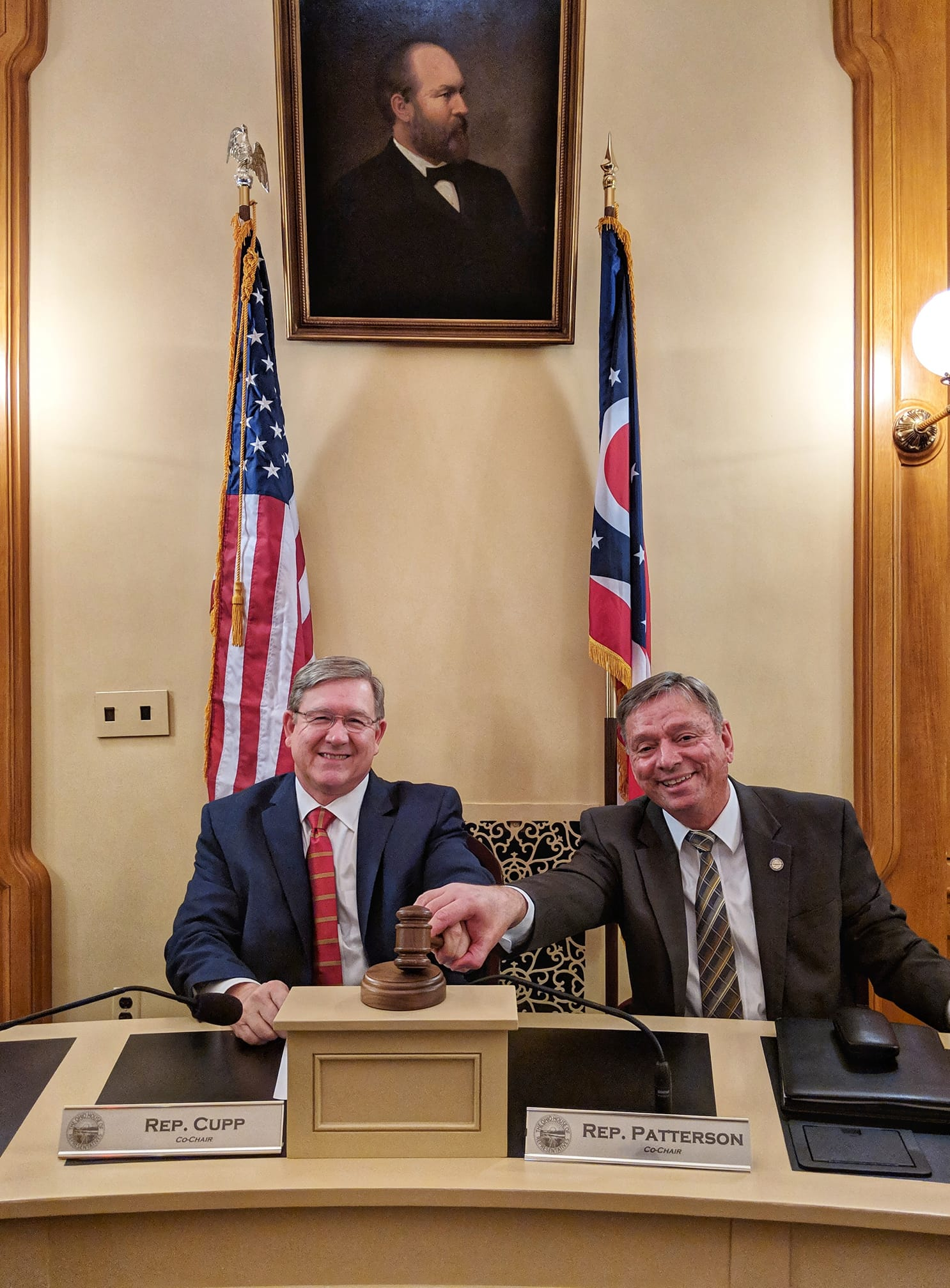 Bi-partisan Cooperation At The Ohio House Of Representatives!