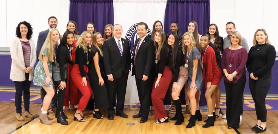 Francis DeSales High School Girls Volleyball Team -the 2019 Division-I State Champions