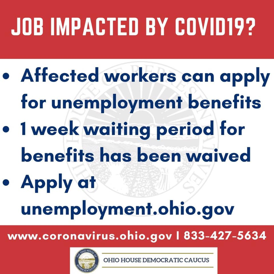 Job Affected By Covid19 Notice