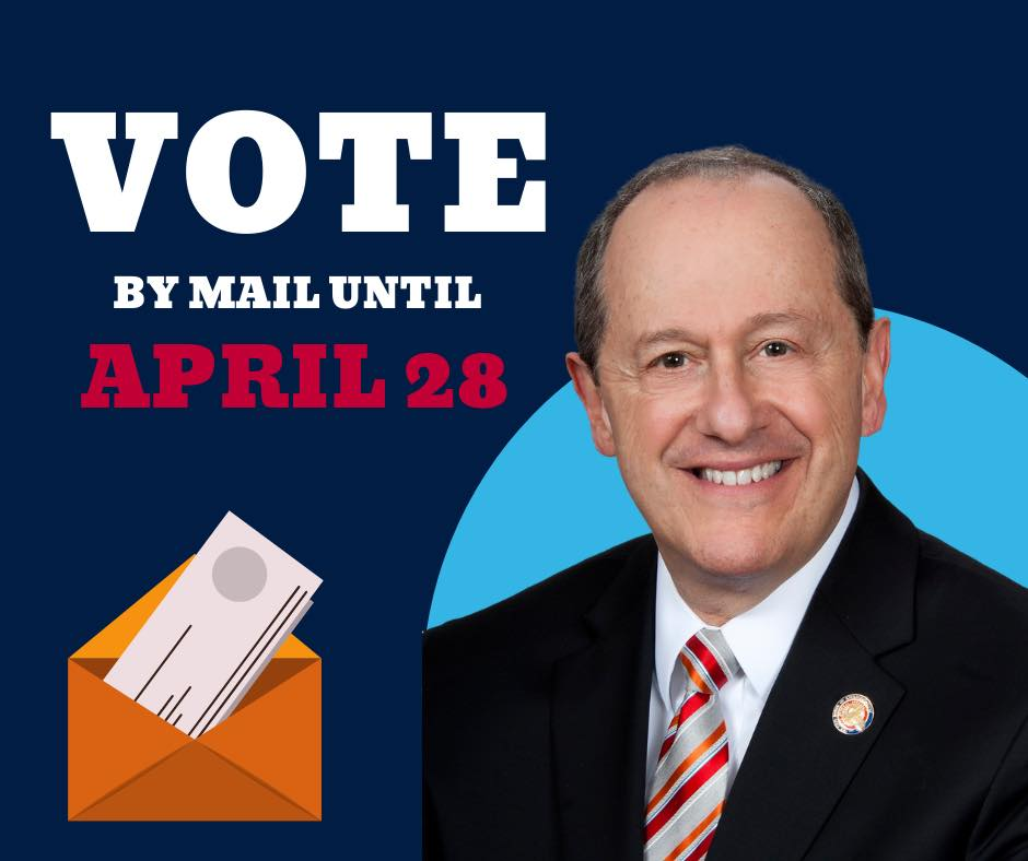 Vote By Mail Until April 28