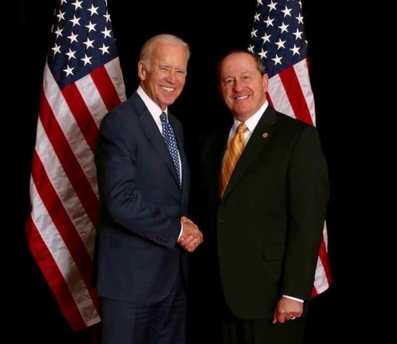 Joe Biden And David Leland
