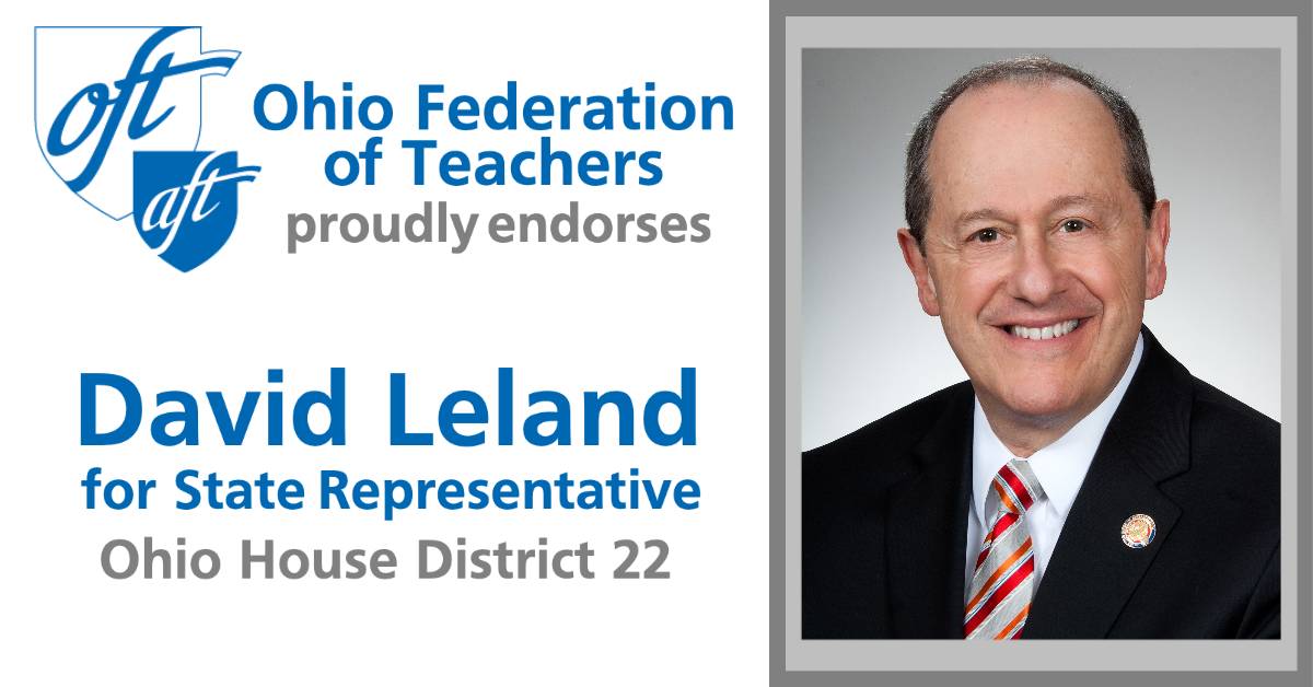 Proudly Endorsed By The Ohio Federation Of Teachers