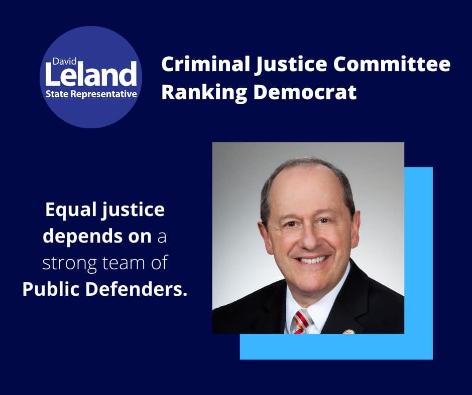 Criminal Justice Committee Ranking Democrat